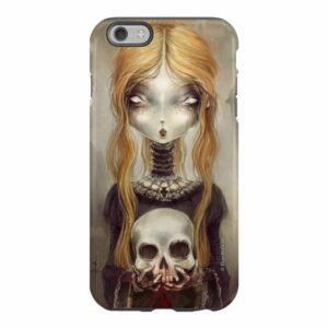 Iphone Case Black Widow by Élian Black'Mor