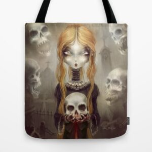 Tote Bag Black Widow by Élian blackMor