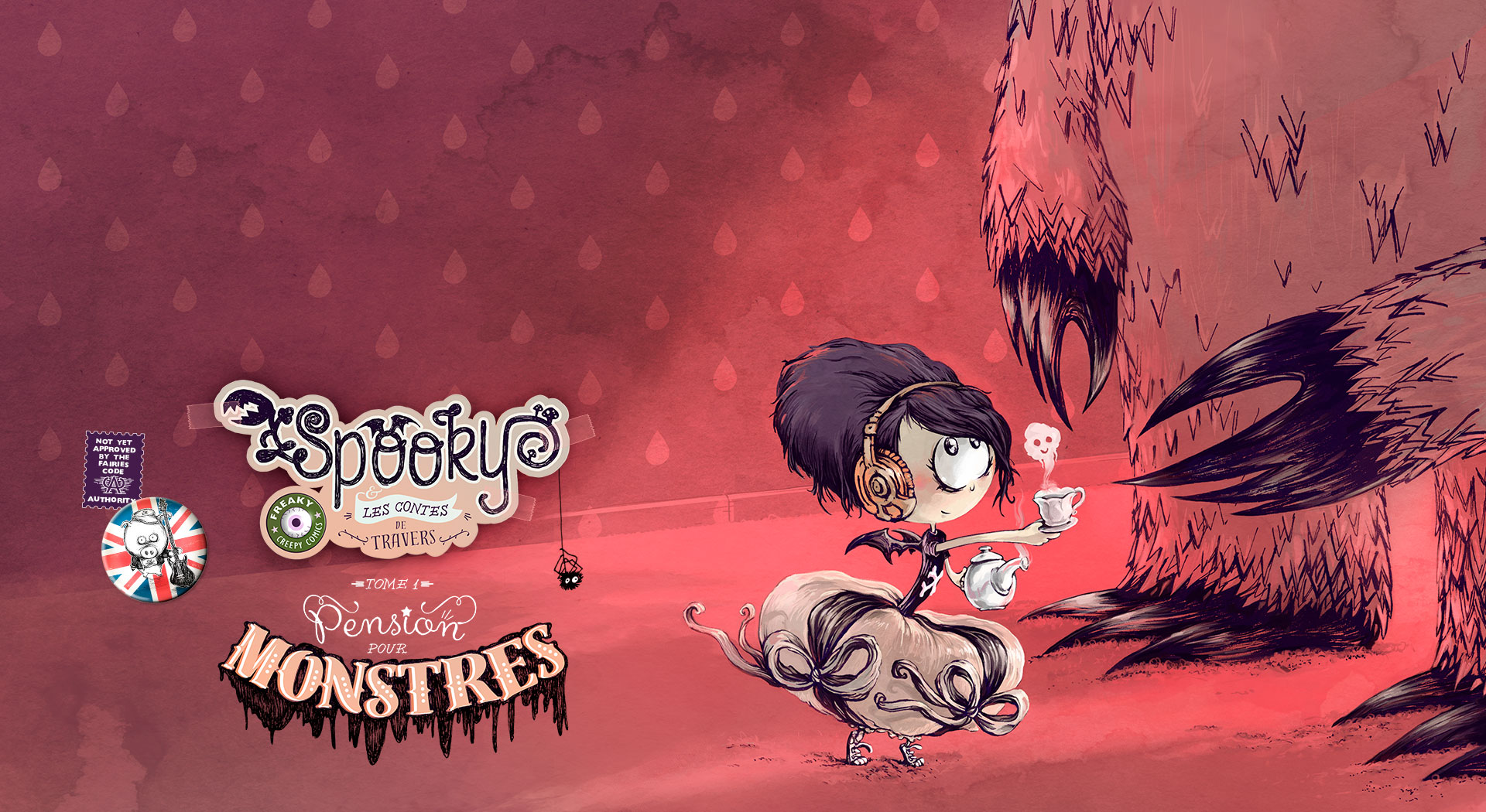 Spooky et les contes de travers T.1
